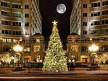 Navidad en Reston Town Center, Washington D.C.