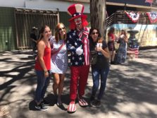 Amigas Au pairs celebrando 4th of July en Estados Unidos