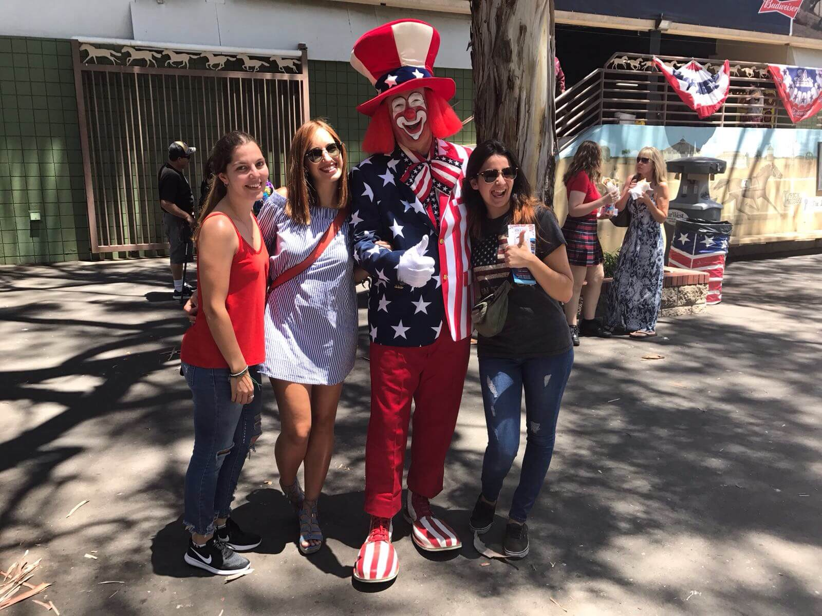 Au pairs celebrando 4th of July en Estados Unidos